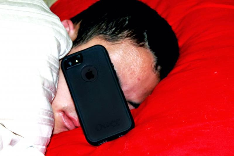 Nomophobia: fear of being out of mobile contact