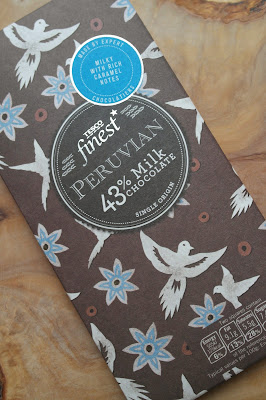 Tesco Finest, Peruvian, 43% milk chocolate, single origin