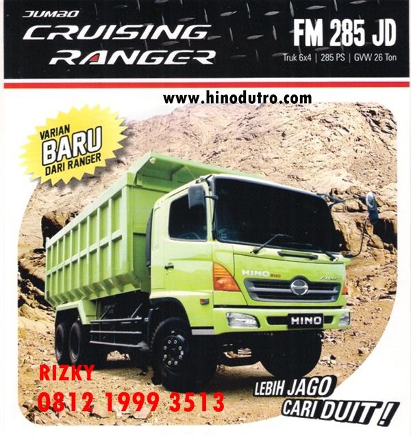 Dump Truck HINO FM 285 JD