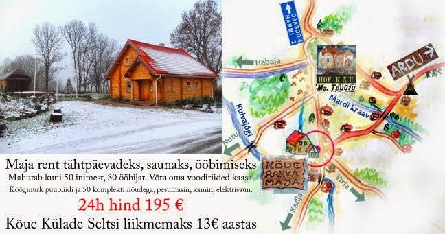Kõue Külade Selts - Kõue Rahva Maja