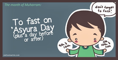 Selamat hari 'Asyura kepada semua orang islam