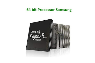 64 bit Processor Samsung Galaxy S7 Edge -