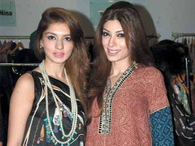 beautiful Pakistani girls fashion 2012