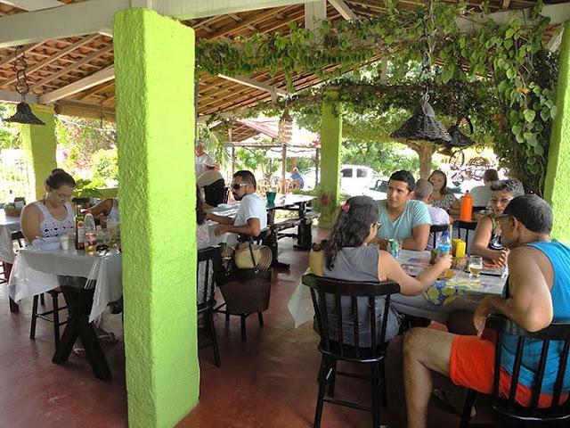 Sucesso do Bode Paraibano no restaurante O Púkaro