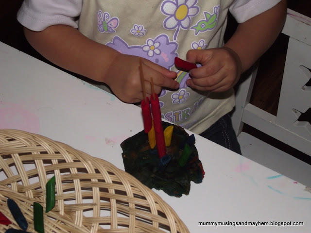 Fine Motor Spaghetti Threading