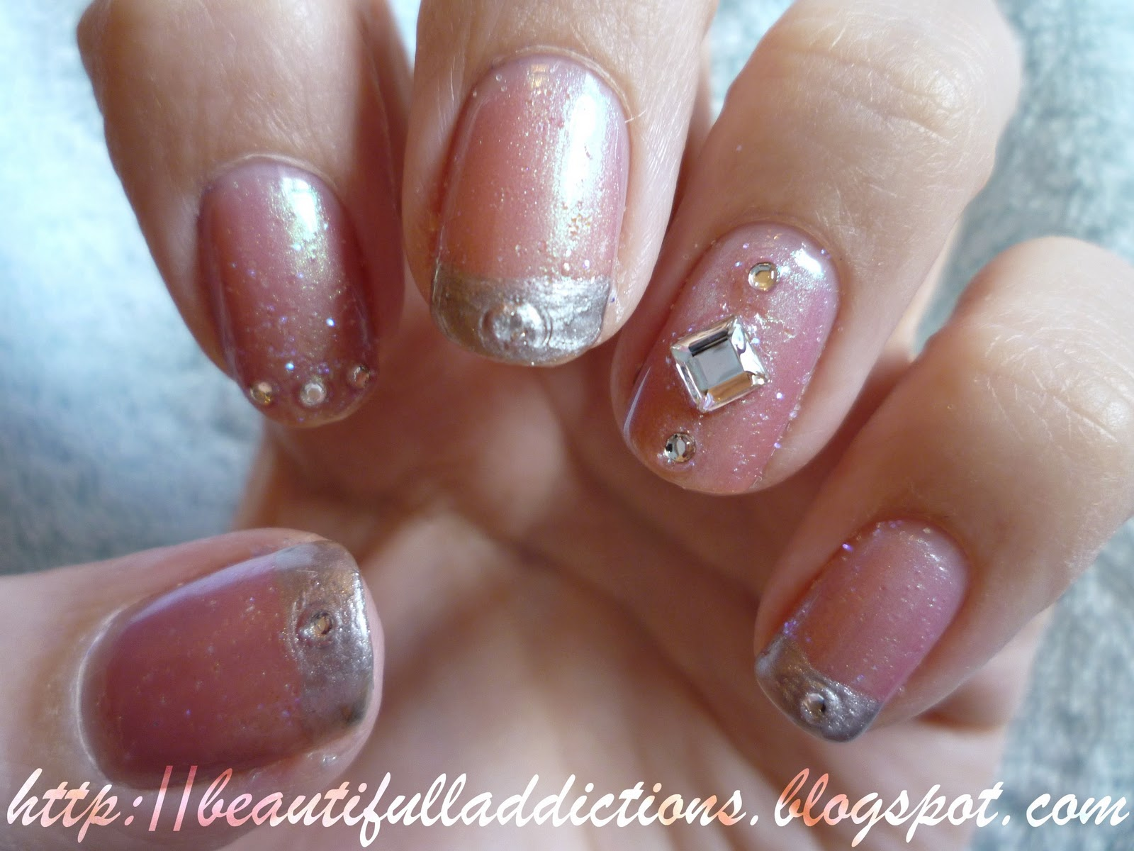 Beautiful Addictions: NOTD: StarGazer \'Shake & Bling Challenge\'