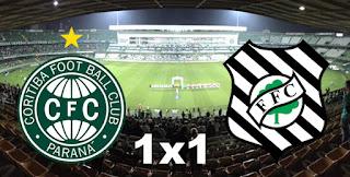 Coritiba 1x1 Figueirense
