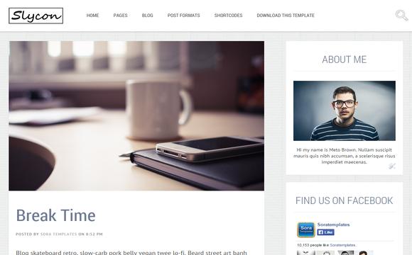 Sycon - Free Blogger Template