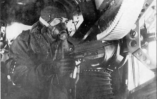 WW2 Italian Bomber -  Gunner