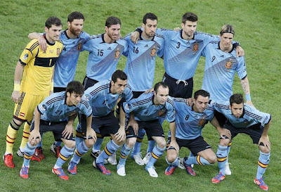 Spanish Football Team 2012