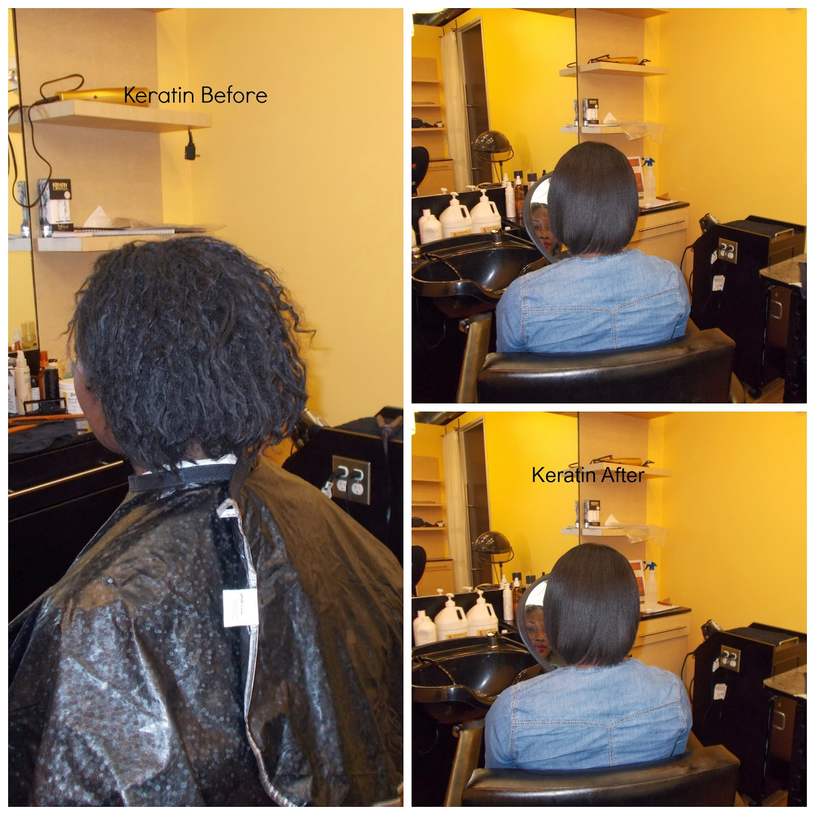 Can You Use Keratin Treatment On Natural Unpermed African