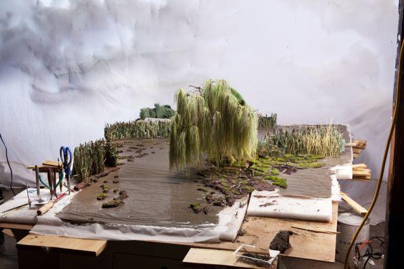 Matthew Albanese fotografia set designer maquetes modelos miniaturas hiper realistas Uma nova vida - maquetes e cenário