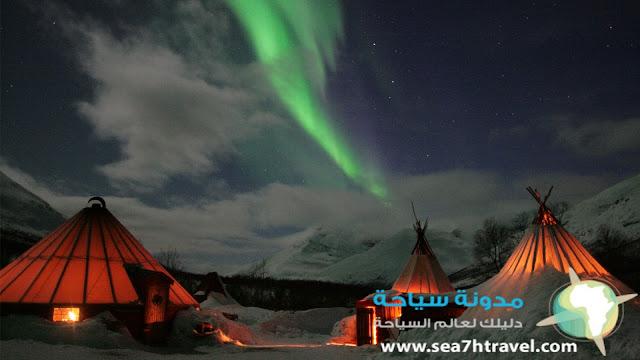 منطقة الأضواء الشمالية في ايسلندا
