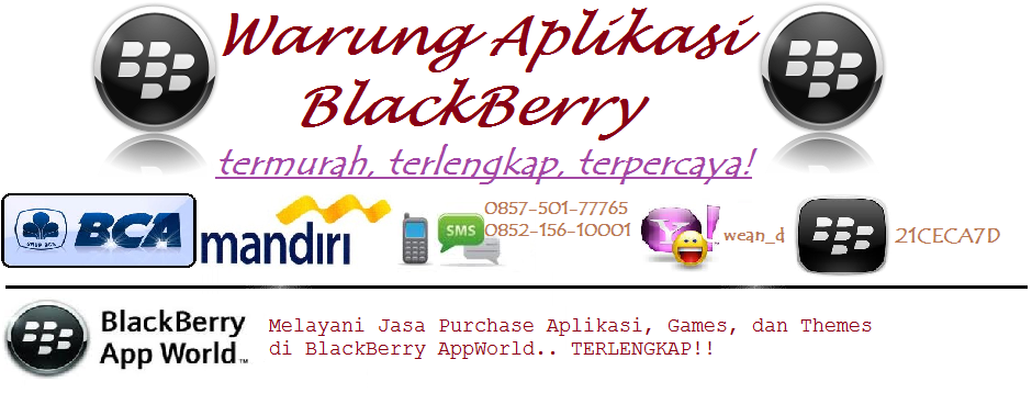 Warung Aplikasi Blackberry