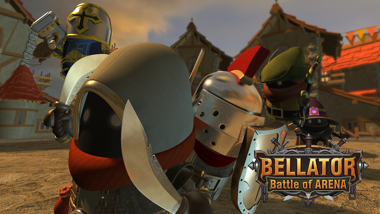 BELLATOR : Battle of Arena Gameplay IOS / Android