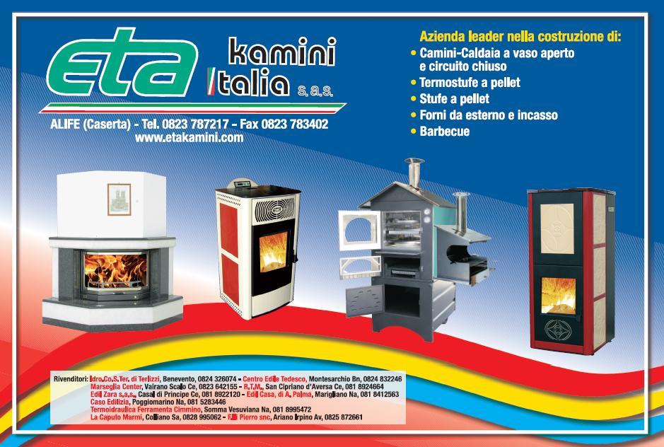 Il nuovo piacere del fuoco termostufe e stufe a pellet for Eta kamini