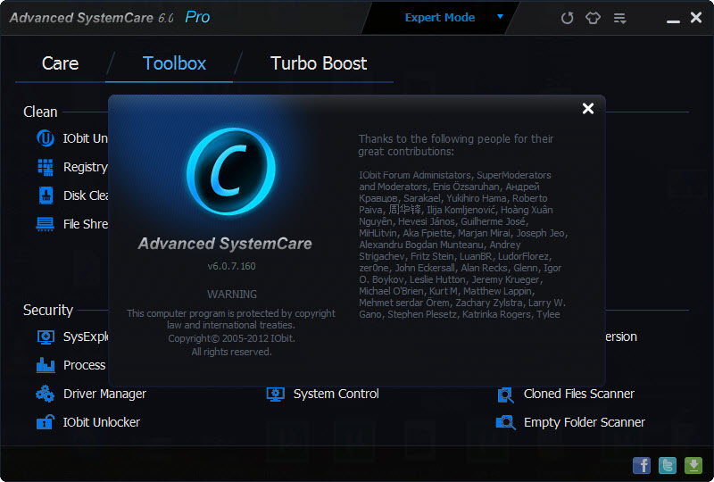 advanced systemcare для виндовс 8 кряк