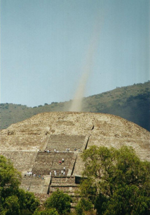 A very interesting article at this site. Aztec Pyramid of ...