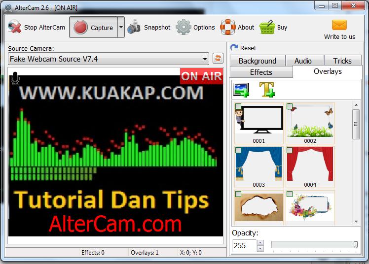Free Software Virtual Webcam Terbaik Sangat Cocok Edit Video Dan Lagu Juga Banyak Effect Jadi Cocok Untuk Pendukung Youtube