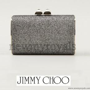 Princess Madeleine style JIMMY CHOO Clutch