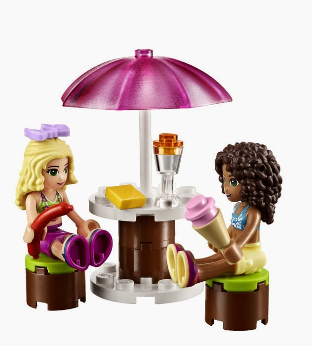 lego friends city pool instructions