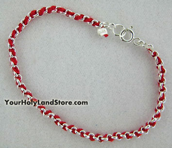 Kabbalah Red Bracelet String3