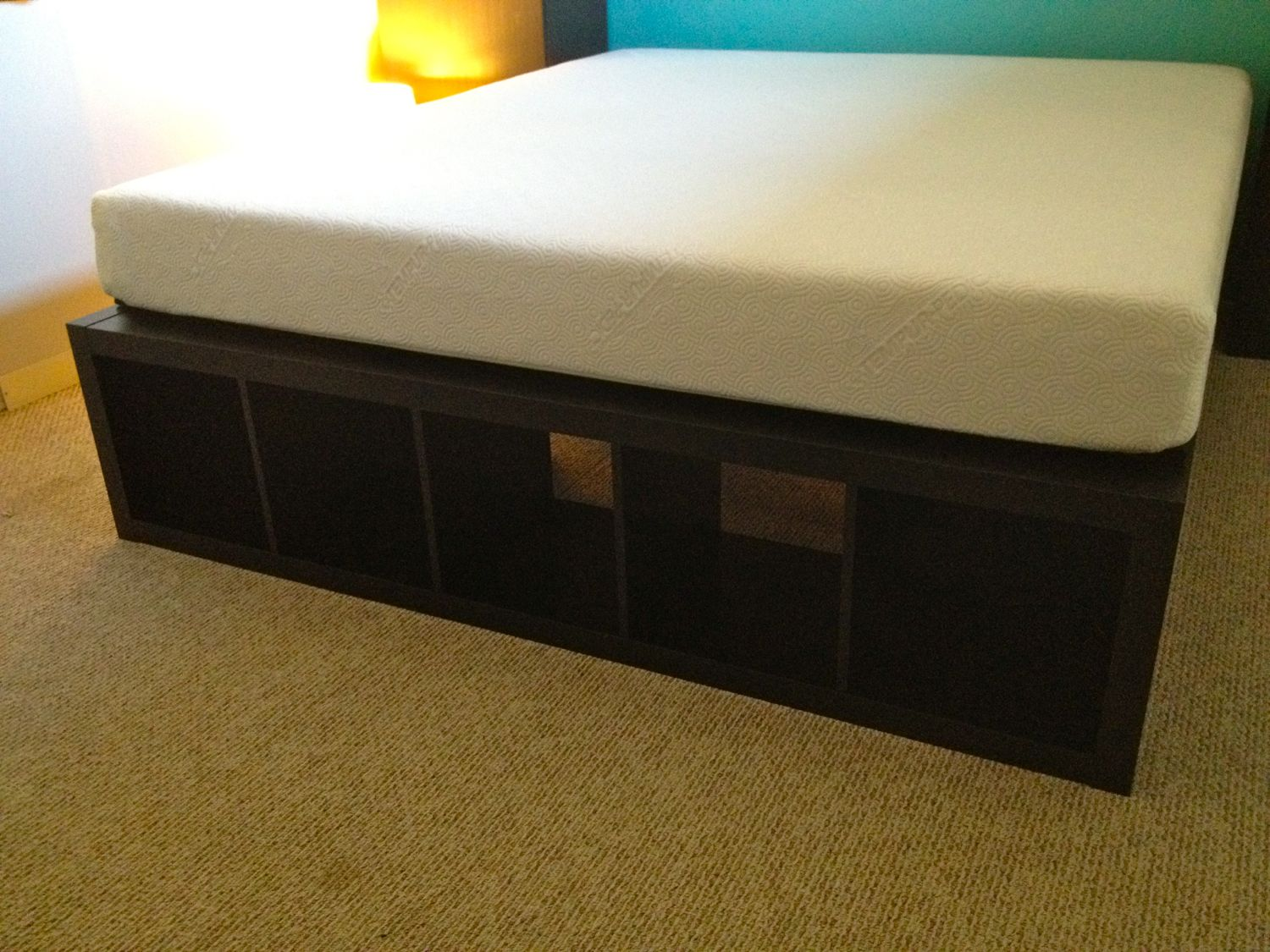 Finally A Cal King Bed Frame With Space For Dog Kennels