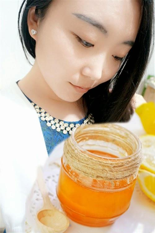 mặt nạ chanh và mật ong