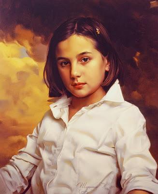 pinturas-de-niñas-en-realismo