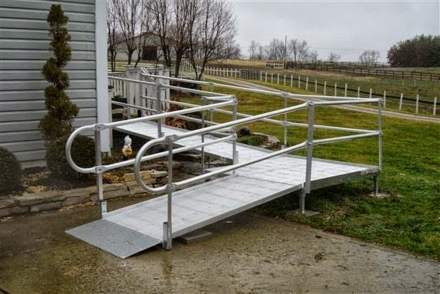 Durable Handicap Ramp