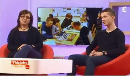 Le 27 janvier dernier, Bilel passait à l'émission Toute une histoire © France 2