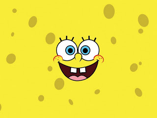 Sponge Bob Face HD Wallpaper