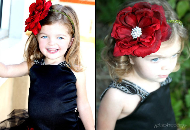 dresses for weddings for girls. Black Flower Girl Dresses for