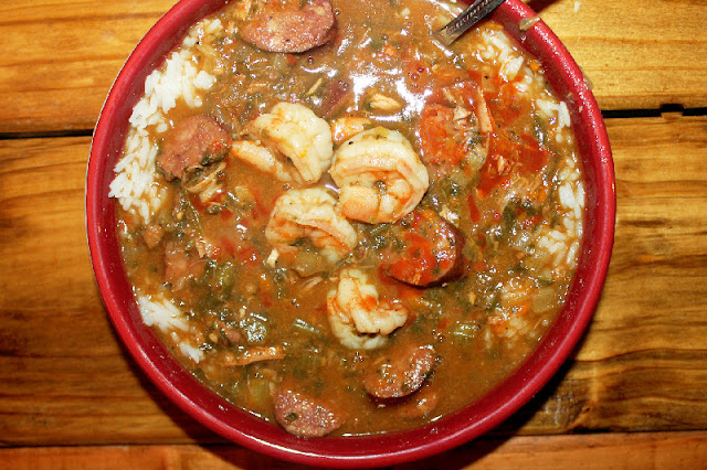 Creole Contessa: Smokey Creole Gumbo with Hot Sauce