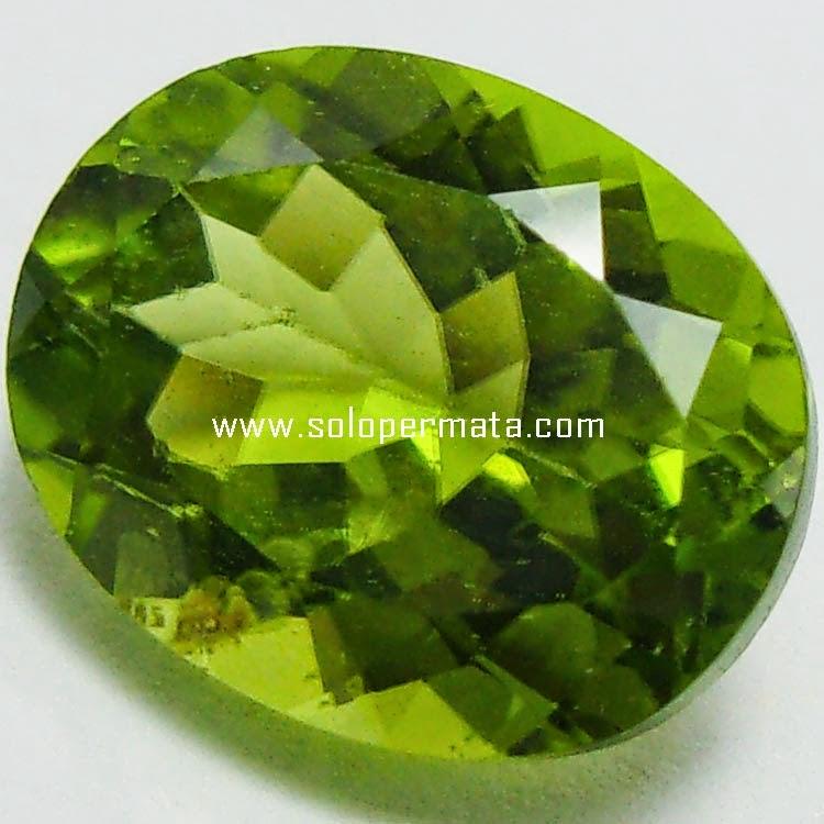 Batu Permata Natural Green Peridot