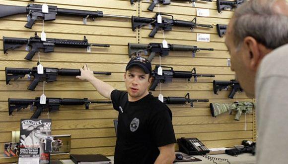 Toko senjata di Amerika