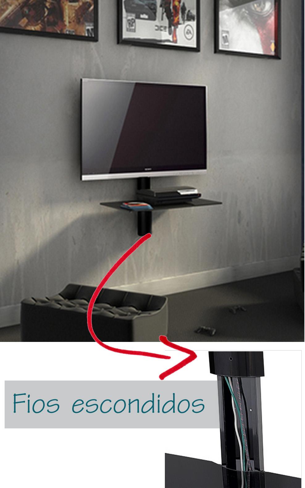 Como Instalar Tv Na Parede Da Sala
