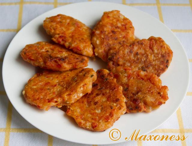 Доматокефтедес (томатные котлетки). Греческая кухня