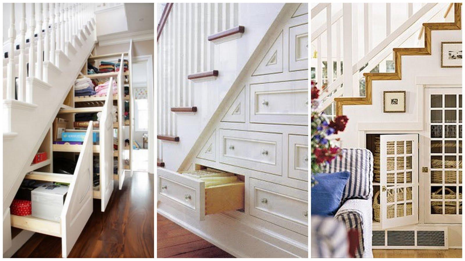 Memaksimalkan ruang di bawah tangga rumah tabloid rumah for Kitchen set dibawah 5 juta