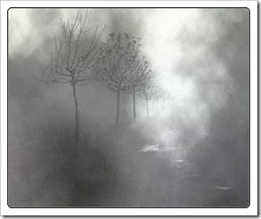 niebla gris