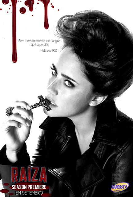 Promo da série RAÍZA 4com Fernanda Vasconcellos