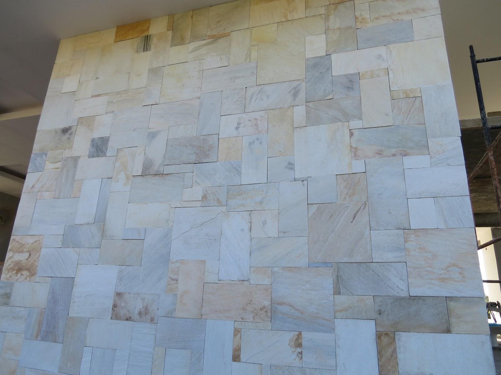 Casa da franci e thiago pedras decorativas da fachada - Tipos de fachadas ...
