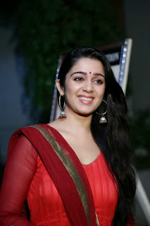Actress Charmi Kaur Pictures in Red Salwar Kameez at Country Club Asia's Biggest New Year Bash 2014 Press Meet  0016