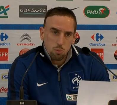 Conférence de presse Franck Ribéry 21 mars 2011