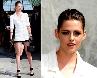 Kristen Stewart Paris Fashion Week 2013