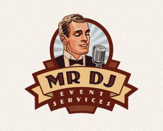 ejemplo de logo vintage y retro