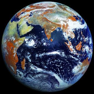 bella foto grande de la tierra desde el espacio