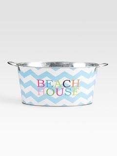 beach house drink tub