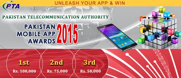 "PTA launches ""Pakistan Mobile App Awards 2015"""