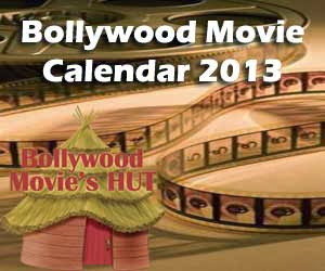 Bollywood Movie Calendar 2013